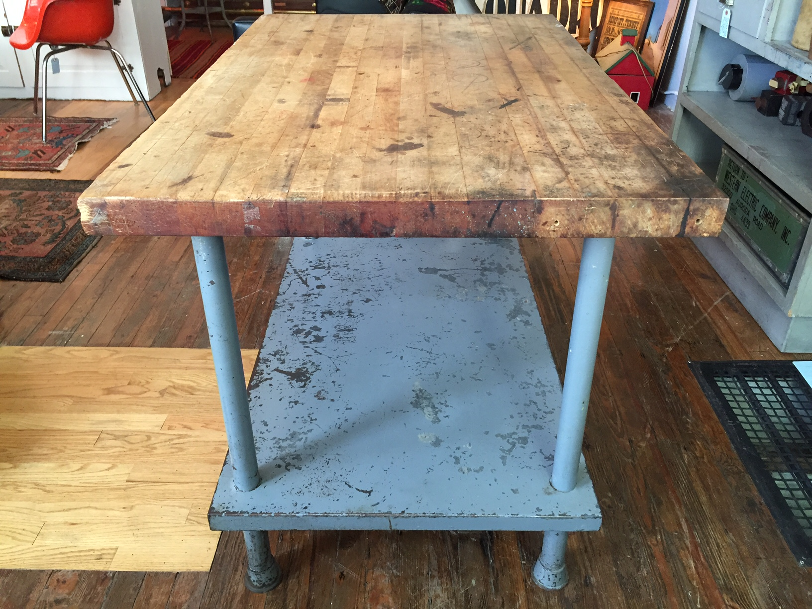 Butcher Block Workstation | Opal Stackhouse